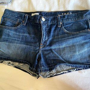 Gap 1969 Denim cutoff shorts 30 10 EUC